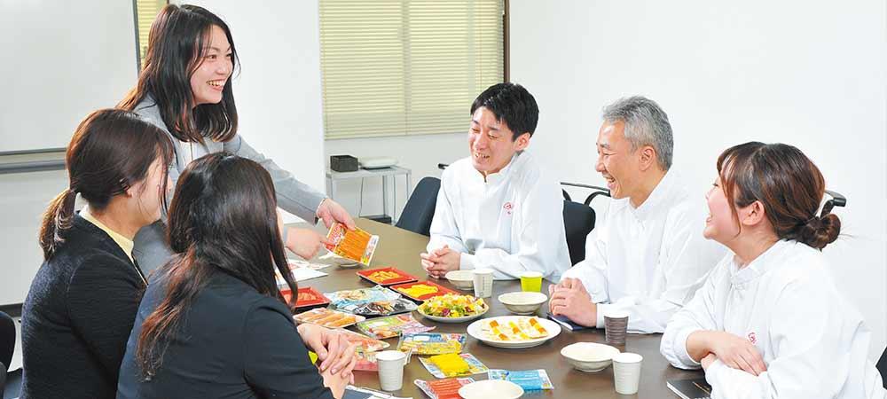 商品開発プロジェクトのメンバー