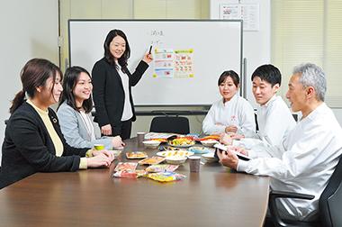 若手社員を中心としたプロジェクトメンバー
