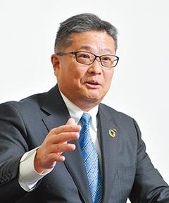 野崎正博代表取締役社長