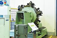 オイルマチック開発の原点となった、自社製の工作機械