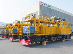 2018年10月にマレーシア鉄道公社に納入した架線検測車