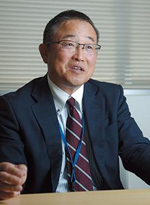 藤城太郎代表取締役。